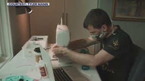 Local organization helps supply masks to those in need