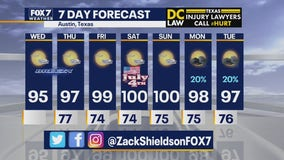Morning weather forecast for July 1, 2020