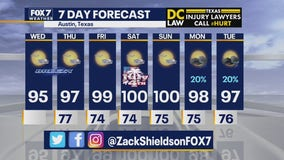 Noon weather forecast for July 1, 2020