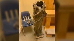 Florida church's statue of Jesus beheaded, similar attacks occur across U.S.