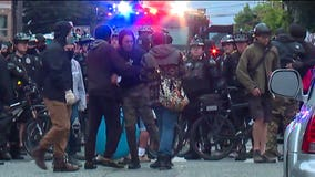 More than 30 arrested as Seattle cops clear CHOP zone