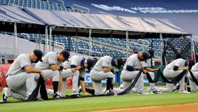 'We need changes': MLB teams kneel before season opener in support of Black Lives Matter movement