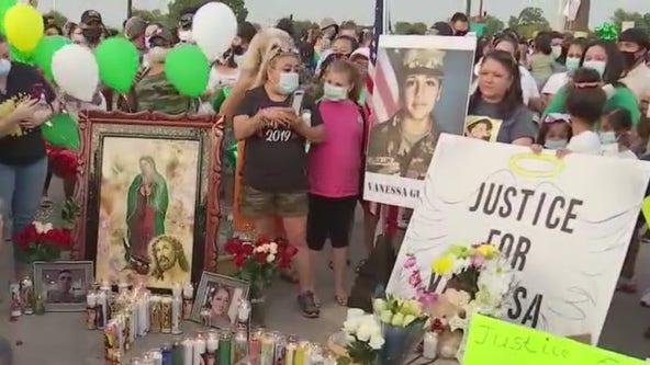 Memorials held on July 4 weekend for murdered soldier Vanessa Guillen