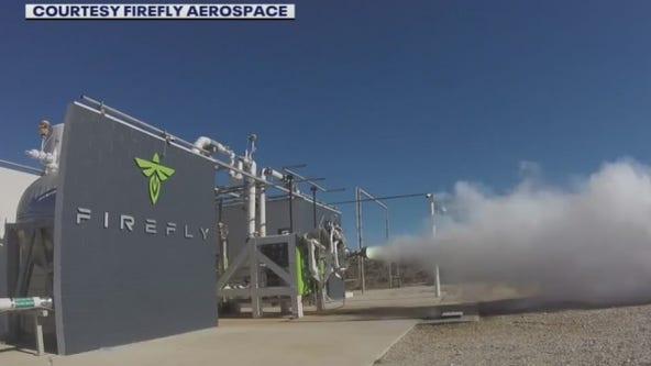 Austin's 'Firefly Aerospace' blasts birthday cake with rocket engine