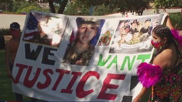 Protesters in Austin demand justice for Vanessa Guillen