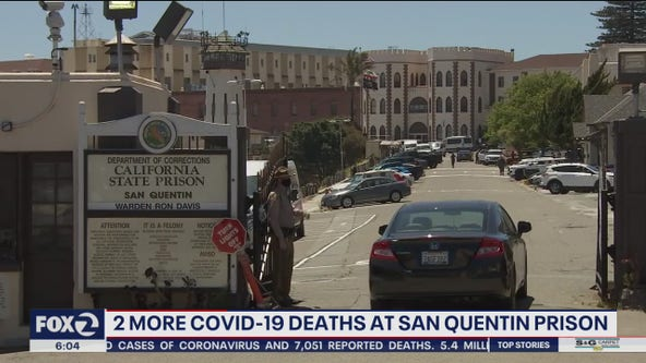 Two more die at San Quentin of coronavirus, bringing death toll to nine