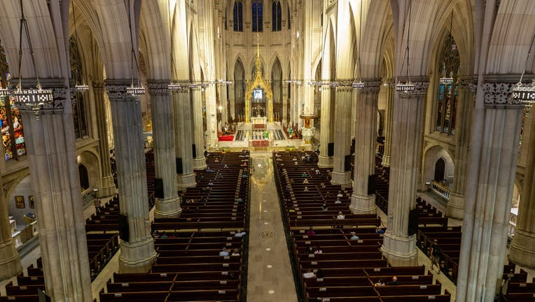St. Patrick's Cathedral on Sunday celebrated its first