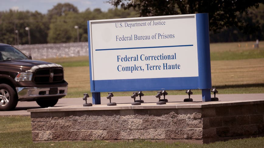 Another federal execution set for Wednesday after 1st in decades carried out in Indiana