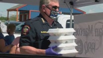 Hays County law enforcement gives free BBQ plates to community