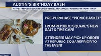 Austin's Birthday Bash will be a virtual celebration this year
