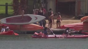 Personal watercrafts abundant in Lady Bird Lake, rental companies still unable to open