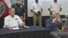 Gov. Abbott issues state disaster declaration as two tropical systems approach the Texas coast