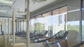 "Castle Hill Fitness installs Plexiglass ""workout pods"" to help keep gym members safe"