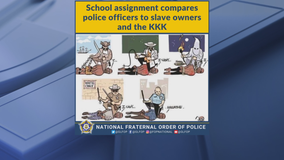 Wylie ISD apologizes for school assignment that likens police officers to KKK, slave owners