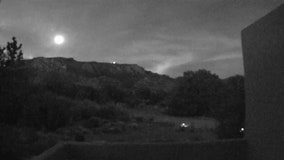 Home security camera captures 'bolide' meteor streak across Albuquerque night sky