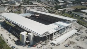 Austin FC Stadium taking shape at McKalla Place
