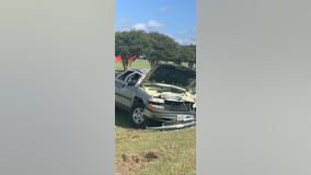 Texas teen flips truck while fleeing police