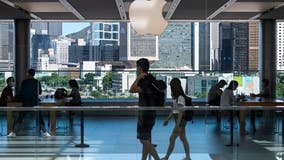 Apple becomes the 1st US company to be valued at $2 trillion as tech fortunes soar