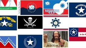 Public ideas for Mississippi flag: Magnolias, stars, beer, memes