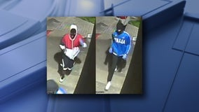 APD searching for two suspects in East Austin gas station robbery