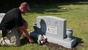 Proper headstone placed for 'Corona Girl' cold case murder victim Sue Ann Huskey