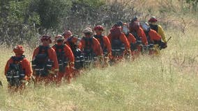 California inmates battling wildfires despite COVID-19, early releases