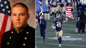 US Marine lands deal with Patriots after putting football career on hold to serve