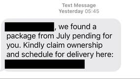 Deputies warn of 'package pending' text scam containing recipient's name, potentially dangerous link