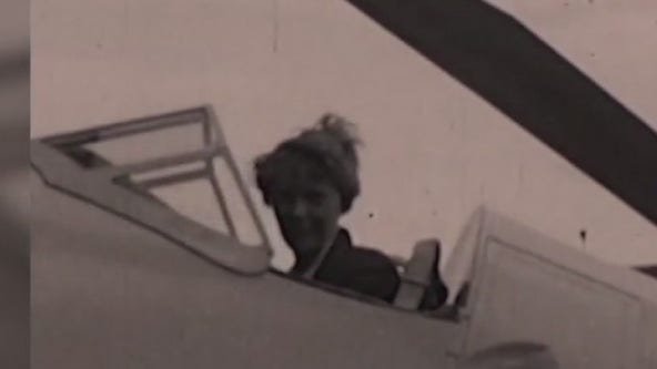 Texas Archive of the Moving Image unearths stunning Amelia Earhart film