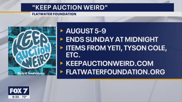 Flatwater Foundation 'Keeping AUCTION weird'