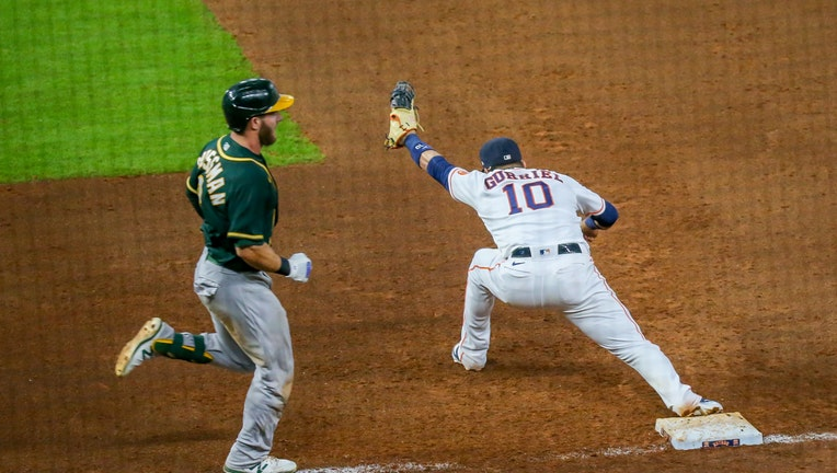 MLB: AUG 29 Athletics at Astros - Game 2