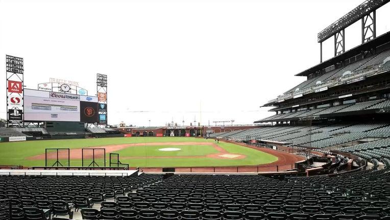 Oracle Park San Francisco Giants SF Giants