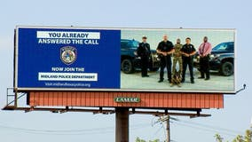 Outside police departments place recruitment ads in Austin area