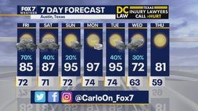 Morning weather forecast for September 4, 2020
