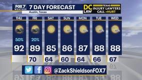 Morning weather forecast for September 17, 2020