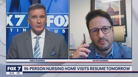 FOX 7 Discussion: In-person nursing home visits to resume