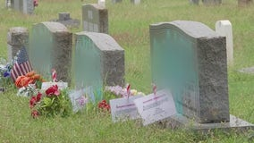 Over a dozen graves vandalized at historic cemetery in East Austin