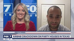 FOX 7 Discussion: AirBnB cracking down on party houses in Texas