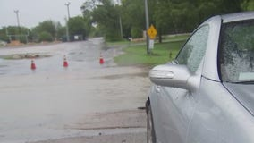Storms trigger some flooding in the Hill Country