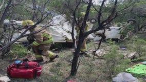 Three injured in small plane crash near Rusty Allen Airport