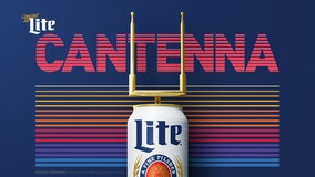 Miller Lite creates 'Cantenna' for football lovers without cable