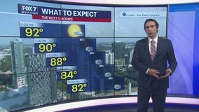 Evening weather forecast for September 6, 2020