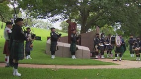 9-11 memorial ceremony held at Texas State Cemetery