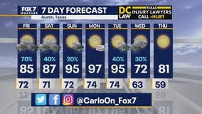 Noon weather forecast for September 4, 2020