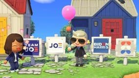 Biden-Harris campaign seeks to win over Animal Crossing island voters