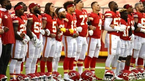 Houston Texans remain in locker room during national anthem, Miami Dolphins say they plan to do the same