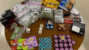 Nearly 2 lbs of marijuana, several THC products seized after traffic stop in Hays Co.