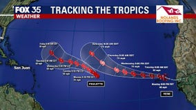 Tropical Storm Rene forms, joins Tropical Storm Paulette in Atlantic