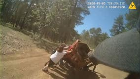 'Am I going to die?': Bystanders, CCSO deputy help save woman's life after her arm was nearly severed in crash