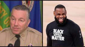 LA Sheriff Alex Villanueva challenges Lebron James to match reward money for gunman who ambushed two deputies